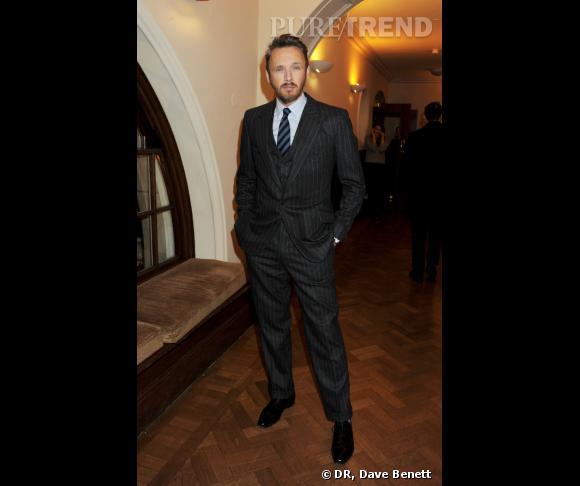 Alasdhair Willis au cocktail David Beckham Bodywear pour H&M.