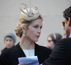 "Kelly Rutherford sur le tournage de la saison 5 de ""Gossip Girl"" à New York."