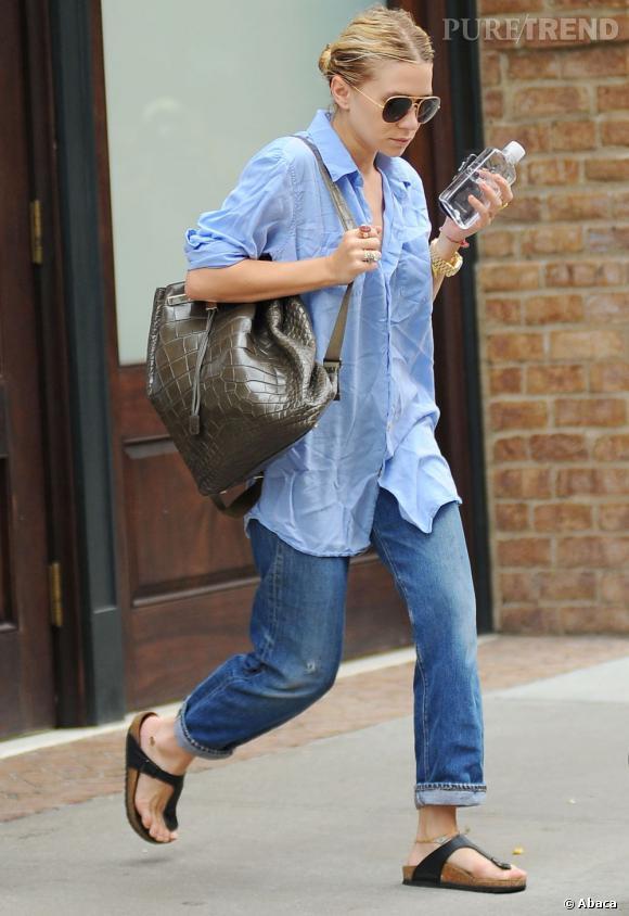 La tendance sac à dos adoptée par les stars    Ashley Olsen