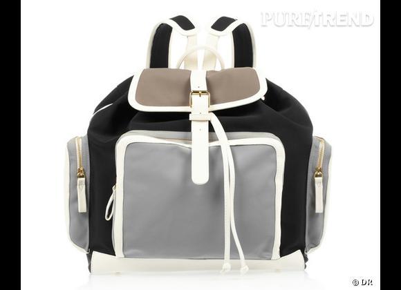 La tendance sac à dos : le bon shopping     Sac à dos Pierre Hardy, 1200 € sur  www.net-a-porter.com
