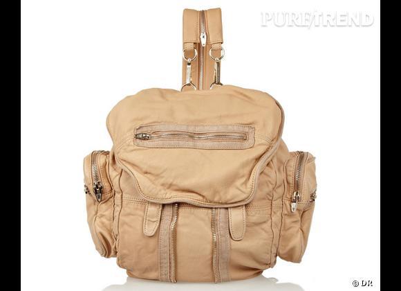 La tendance sac à dos : le bon shopping     Sac à dos Alexander Wang 765 € sur  www.net-a-porter.com