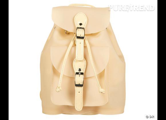 La tendance sac à dos : le bon shopping     Sac à dos Topshop, 33 € sur  fr.topshop.com