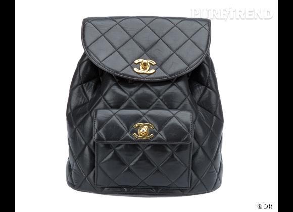 La tendance sac à dos : le bon shopping     Sac à dos Chanel Vintage, 2069 € sur  www.farfetch.fr