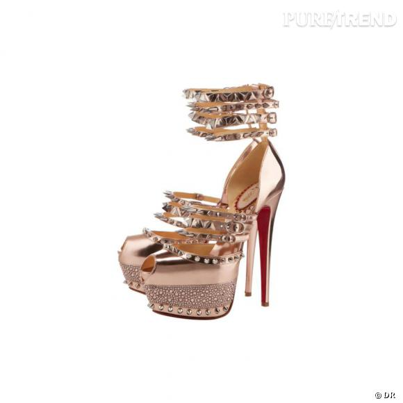 """Must Have : Christian Louboutin, sa collection anniversaire Modèle """" Isolde"""""""