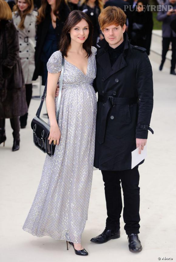 La chanteuse Sophie Ellis Bextor et son mari Richard Jones, bassiste des Stereophonics.