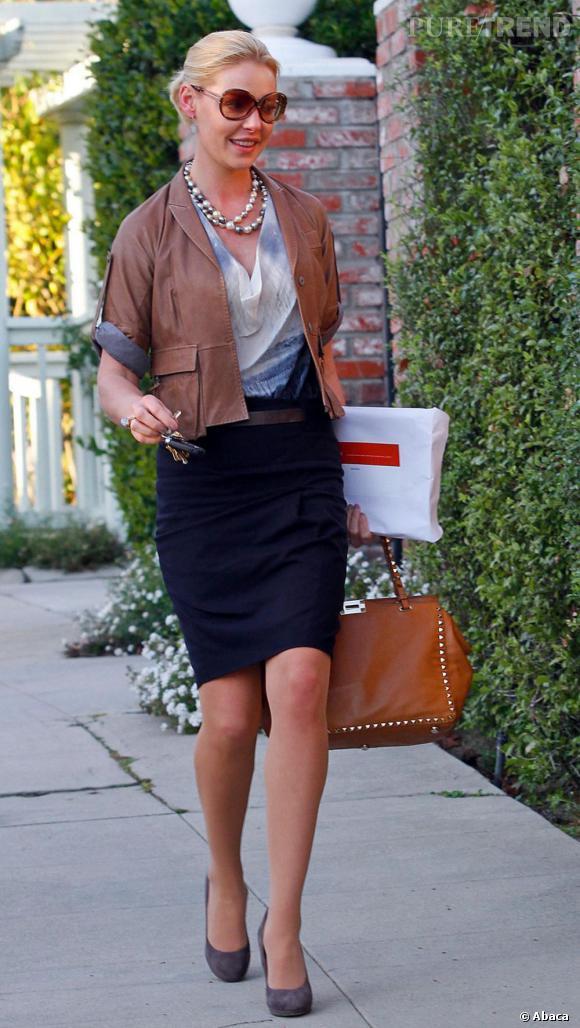 Katherine Heigl, parfaite épouse américaine.