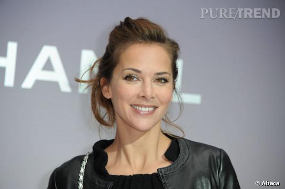 Melissa Theuriau au défilé Chanel Automne-Hiver 2012/2013.