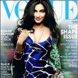 Sonam Kapoor sauvage en Roberto Cavalli pour Vogue.