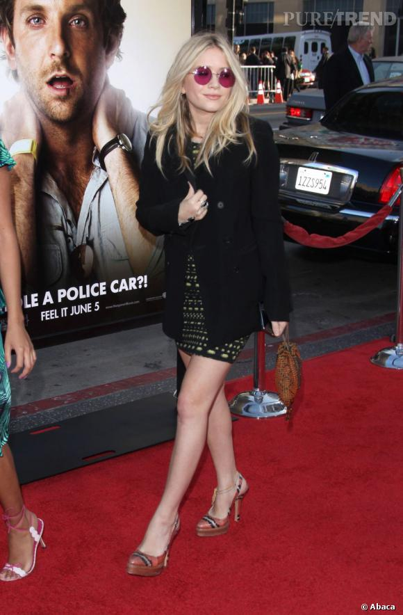Mary-Kate Olsen prouve en 2009 qu'elle peut être tout aussi girly que sa soeur... Mais avec la petite touche rock qui fait toute la différence.