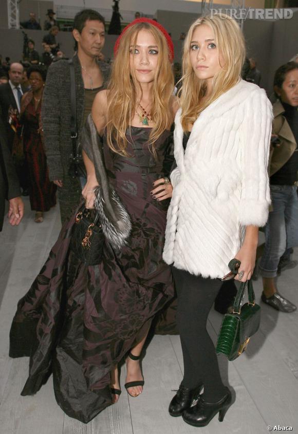 Mary-Kate et Ashley Olsen, les icônes mode de l'année 2006 continuent les sans-faute.