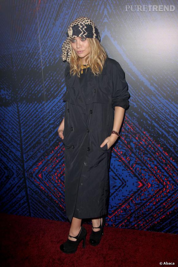 Ashley Olsen quant à elle mélange les genres, du chic au bohème.