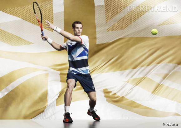 Collection Stella McCartney pour Adidas.   Andy Murray
