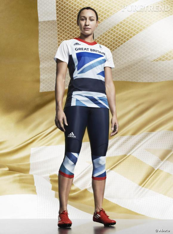 Collection Stella McCartney pour Adidas. Jess Ennis
