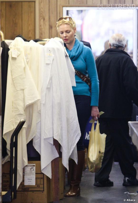 Katherine Heigl fait du shopping, on peut s'attendre au pire...