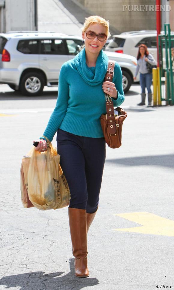Katherine Heigl dans les rues de Los Angeles.