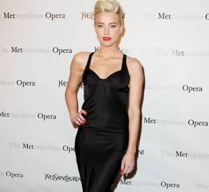 Le look du jour : Amber Heard, jolie pin-up