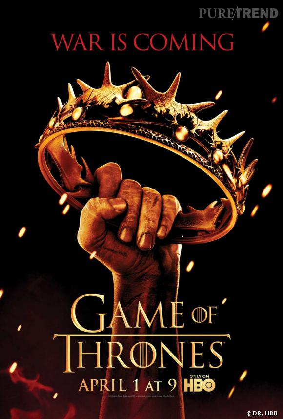 The Game of Thrones (1er avril 2012) L'adaptation plutôt captivante de la saga fantaisy médieval de George R. R. Martin revient sur les petits écrans américains dans quelques jours. Une nouvelle saison plus qu'attendue par les fans qui ont dû ronger leur frein pendant un an pour attendre de savoir si Joffrey Baratheon gardera son trône, comment Daenerys Targaryen organisera son retour et ce qu'il se passe de vraiment l'autre côté du Mur. L'hiver est annoncé pour dimanche soir.