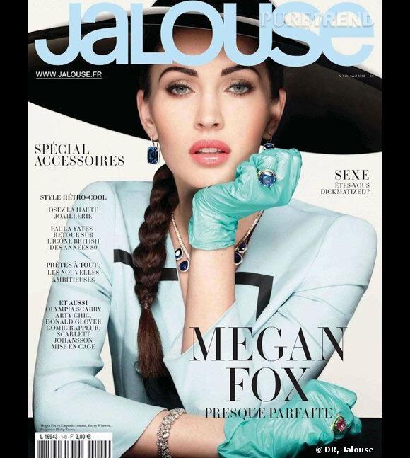 Megan Fox shootée par le rédactrice en chef de Jalouse, Jennifer Eymère.