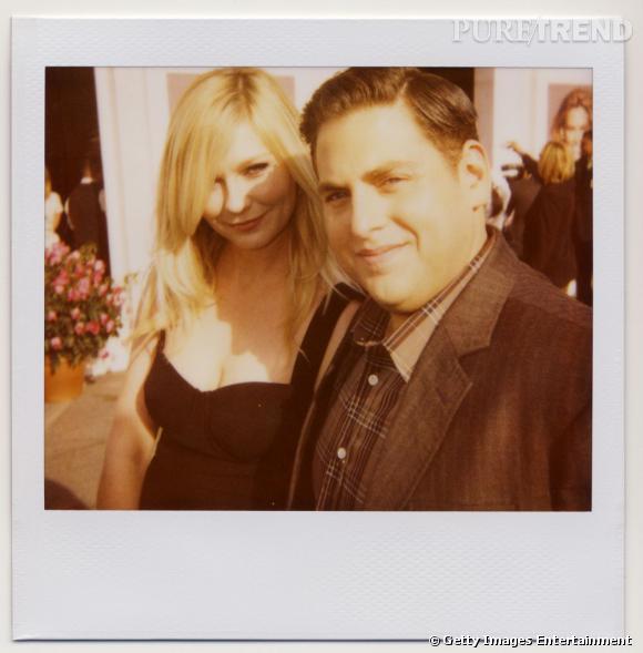 Kirsten Dunst et Jonah Hill à la cérémonie des Film Independent Spirit Awards 2012.