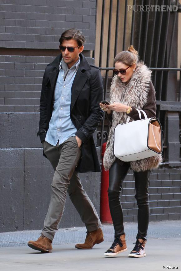 Olivia Palermo, style urbain et couture à New York.