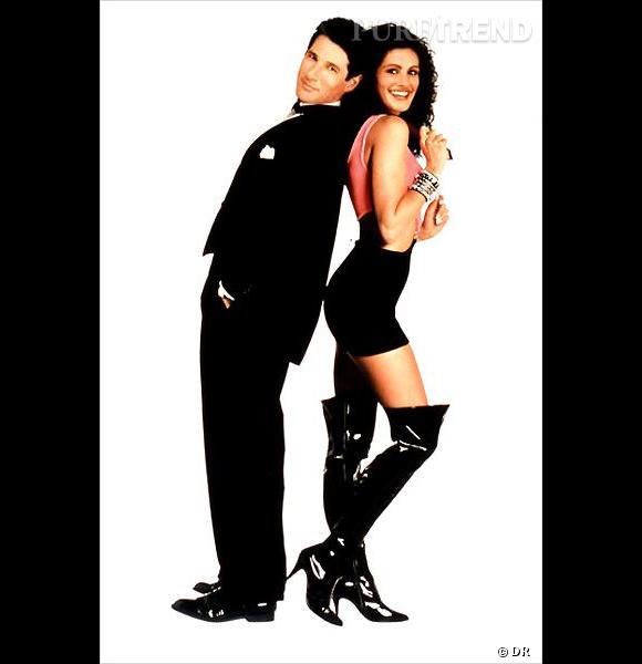 "Julia Roberts dans le film ""Pretty Woman"" de Garry Marshall, accompagné du sexy Richard Gere."