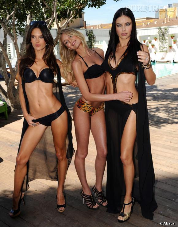 Seulement 3 mois après son accouchement, l'Ange de Victoria's Secret était de nouveau sur les podiums. De quoi faire des jalouses.
