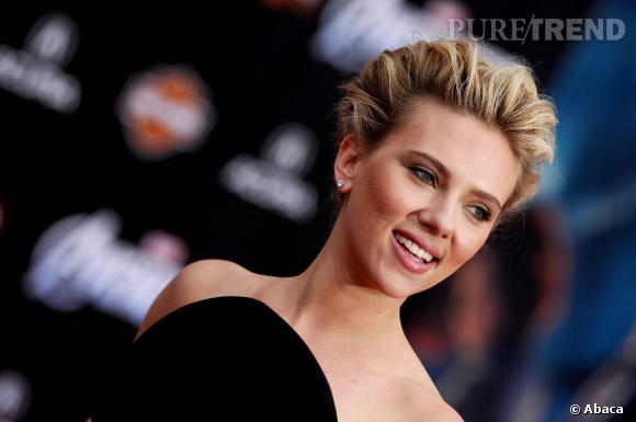 """Scarlett Johansson à l'avant-première de """"The Avengers"""" à Los Angeles."""