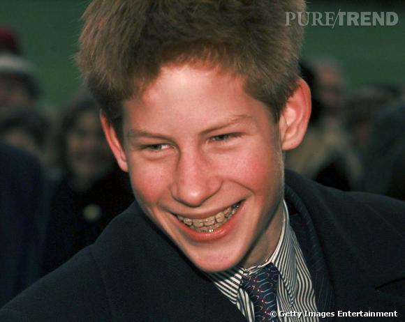 Prince Harry, loin de l'image de Prince Charmant durant son adolescence.