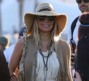 Fergie, hippie bling à Coachella