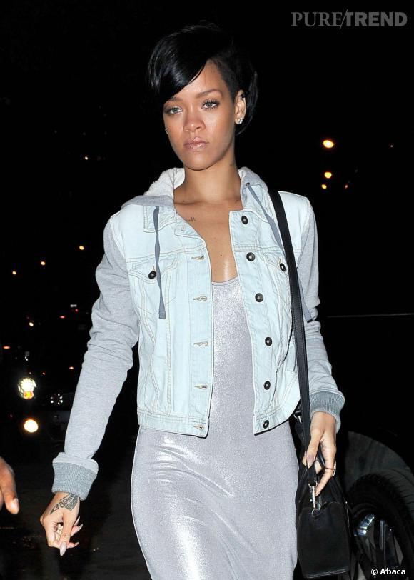 Rihanna dans les rues de New York.