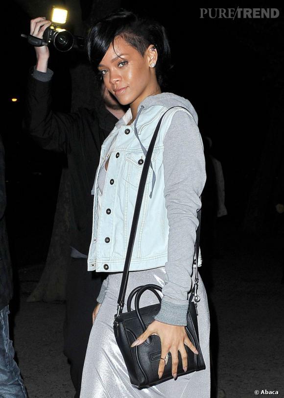 Rihanna reste naturelle question mise en beauté.