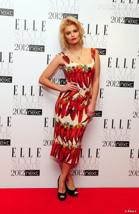 Version star :  Pixie Geldof.