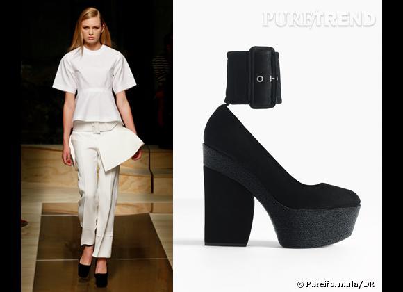 It-shoes : les must have des podiums Printemps-Eté 2012    Défilé Céline   Sandales Céline, 750 €