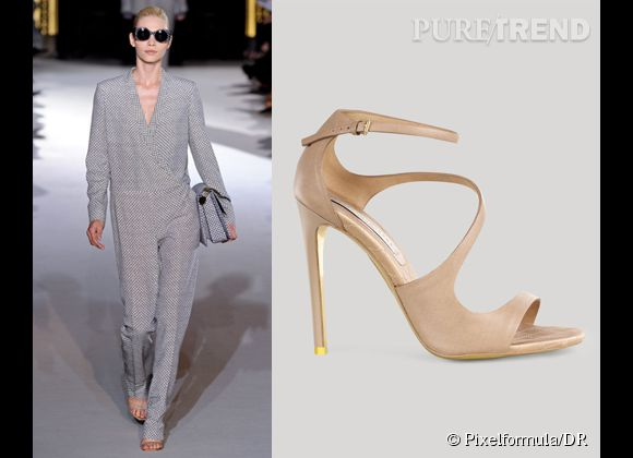 It-shoes : les must have des podiums Printemps-Eté 2012    Défilé Stella McCartney   Sandales Stella McCartney, 485 €