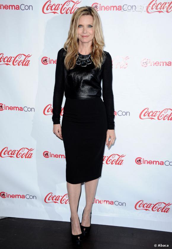Michelle Pfeiffer à la Cérémonie des CinemaCon Awards à Las Vegas.