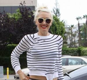 Gwen Stefani, jolie marine à cheval sur le style... A shopper !