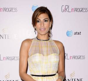 Le look du jour : Eva Mendes, vintage version chic