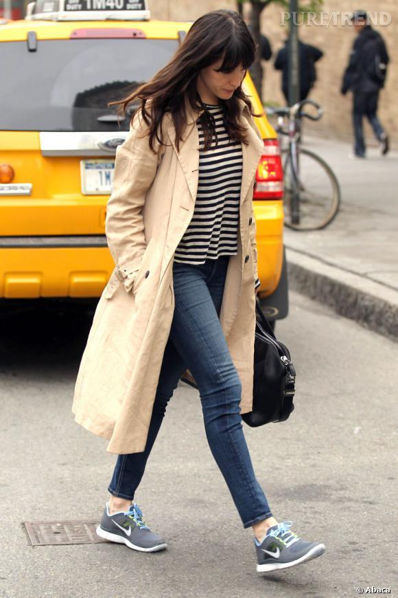 Liv Tyler, une égérie sur le point de prendre le métro.