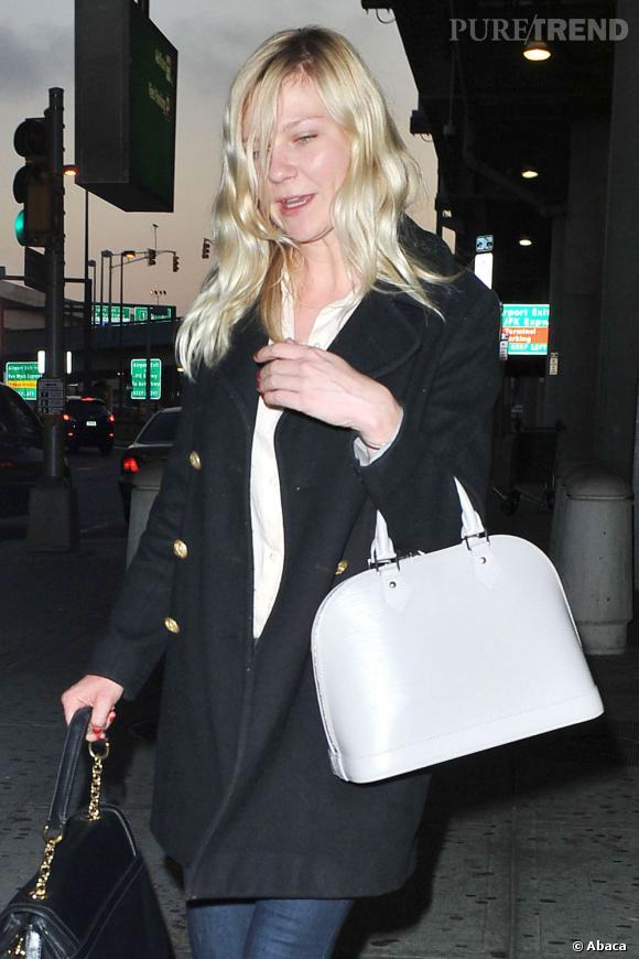 Kirsten Dunst dans les rues de New York.