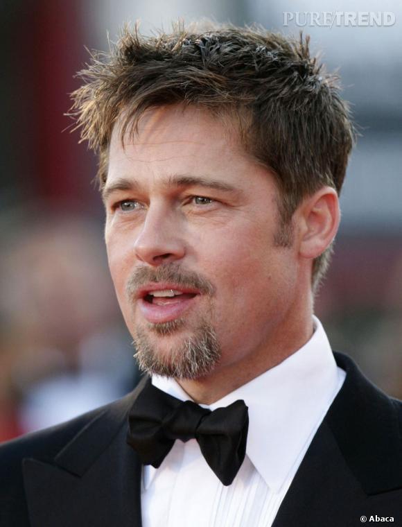 Brad Pitt, égérie du parfum n°5 de Chanel.