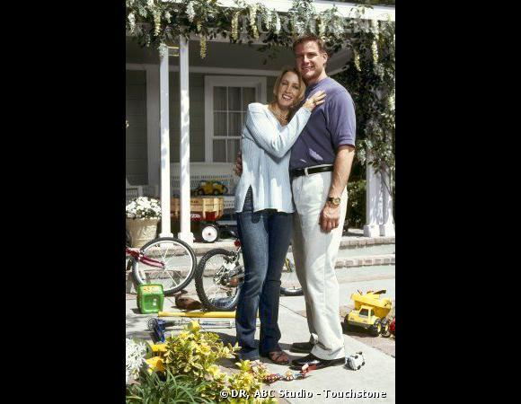 Lynette Scavo (Felicity Huffman) et son mari Tom.