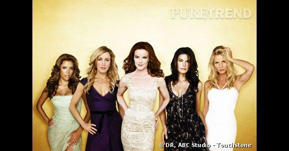 """Les """"Desperate Housewives"""", des beautés fatales."""