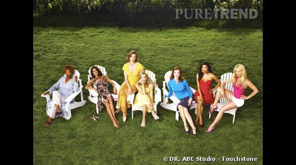 """Le casting de la saison 2 de """"Desperate Housewives""""."""