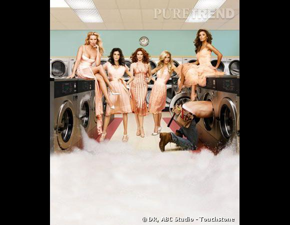 Les campagnes pour Desperate Housewives, toujours glamour.