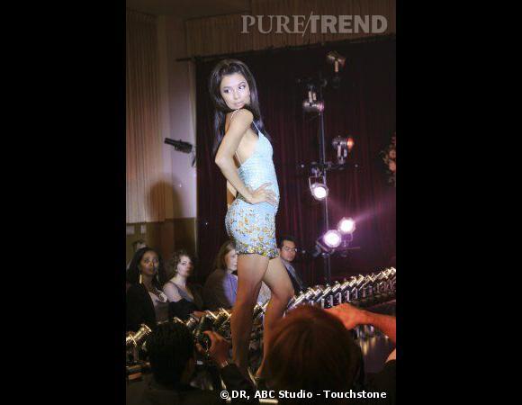 """Gaby (Eva Longoria) au début de """"Desperate Housewives"""", plus cagole que fashion."""
