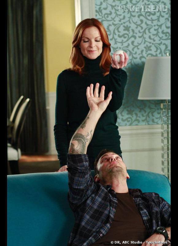 Bree et son petit ami tatoué.