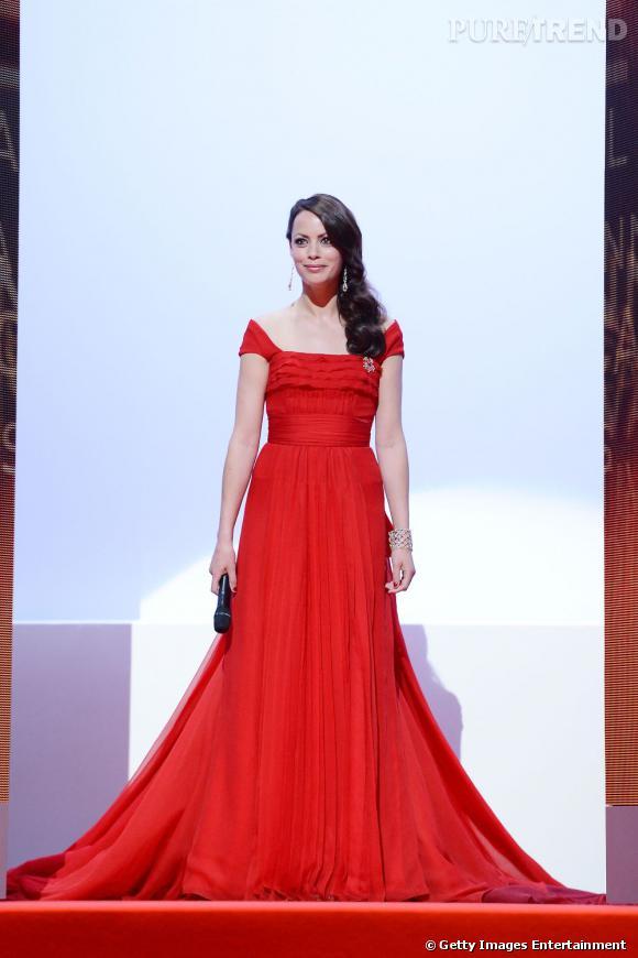 Bérénice Bejo, maïtresse de cérémonie au Festival de Cannes 2012.
