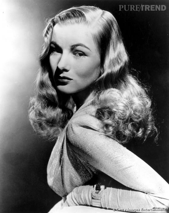 Veronica Lake, icône glamour des années 40, continue d'inspirer les plus grands coiffeurs.