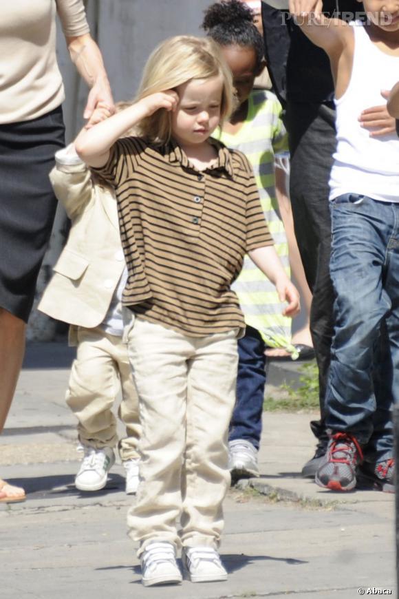 Shiloh Jolie Pitt, l'un des enfants star les plus appréciés.