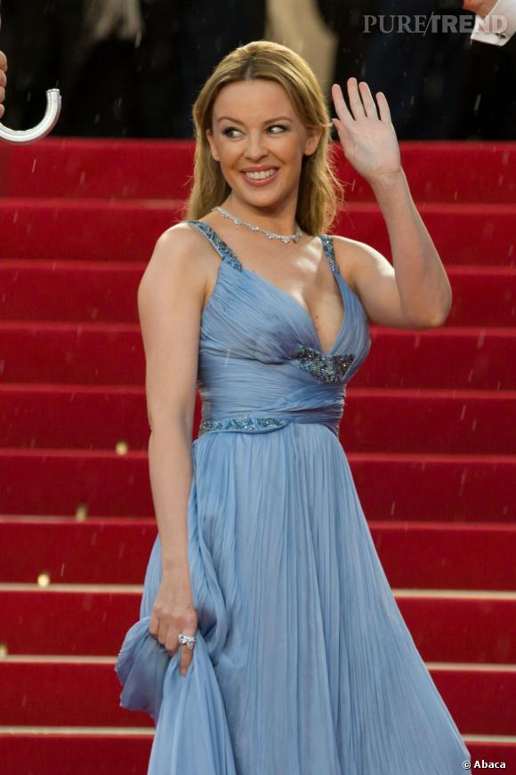 Kylie Minogue à la cérémonie de clôture du festival de Cannes 2012.